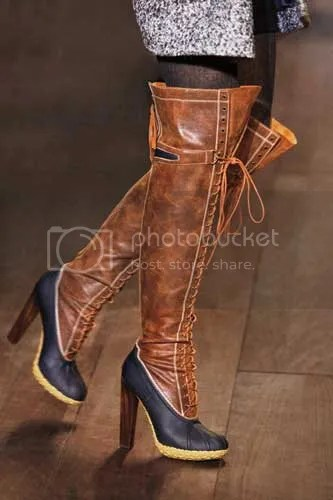 Duck Boots with heels by Tommy Hilfiger