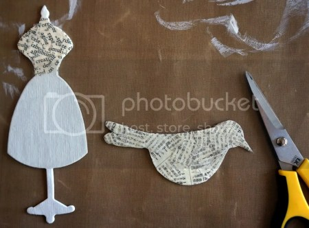 Mixed Media Text Chipboard Pieces