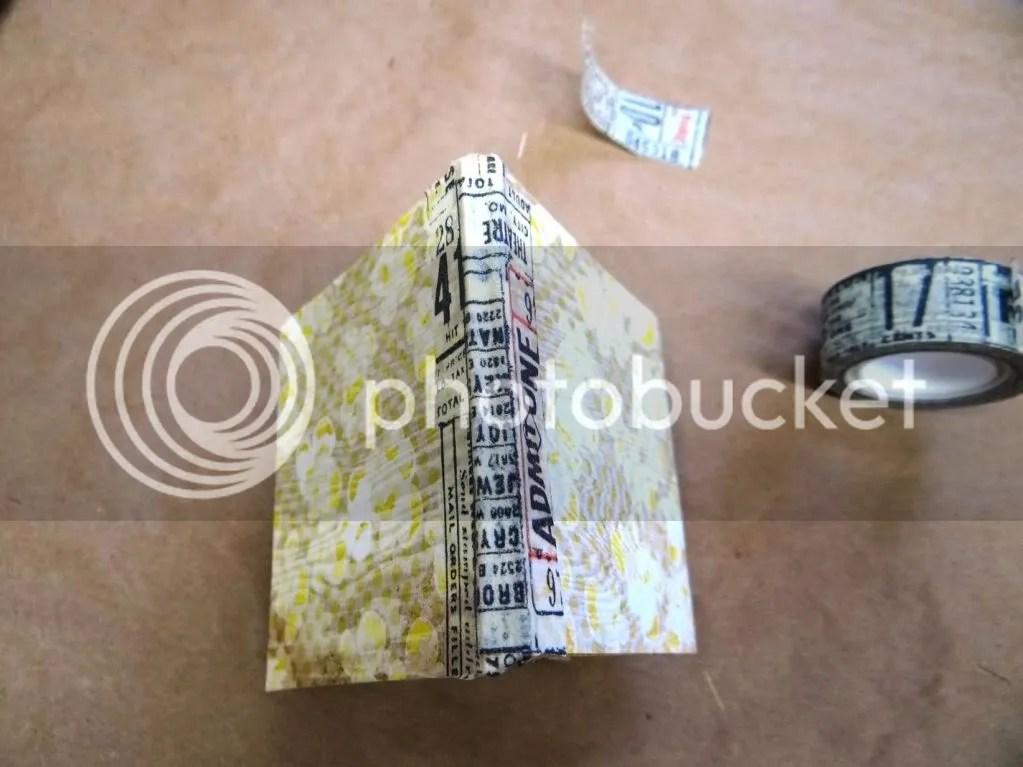 Tissue Tape Book Binding