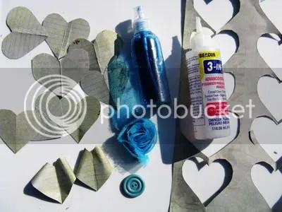 heart flower supplies