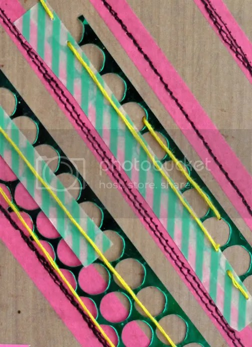 Chevron Stripes Punchinella