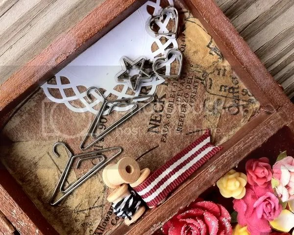 altered_shadow_box_mini_spools_hanger_clips_doily