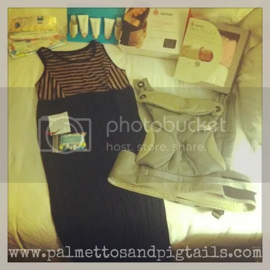 Bloggy Boot Camp for Mommy Bloggers in San Diego #LizLange #ErgoBaby #ad #swag