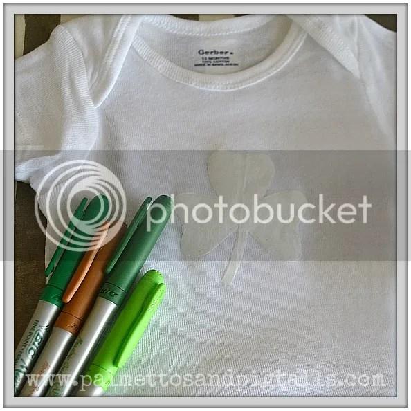 DIY St. Patrick's Day T-Shirt