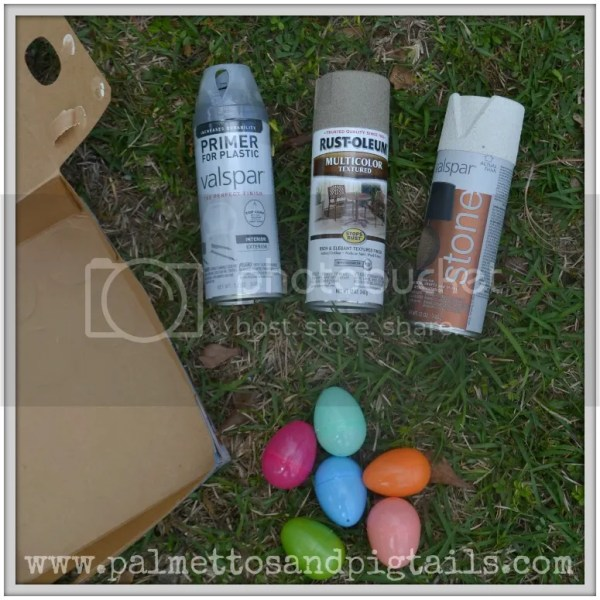 How to up cycle your Easter Eggs for use all Spring long!