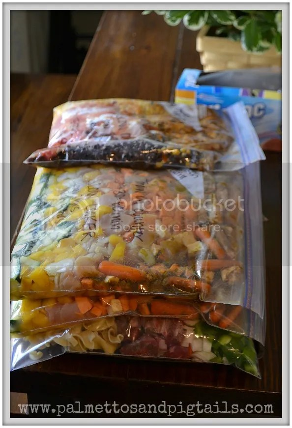 13 Freezer Meals and the Complete Step-by-Step Guide to Making them in One Afternoon! Palmettos and Pigtails