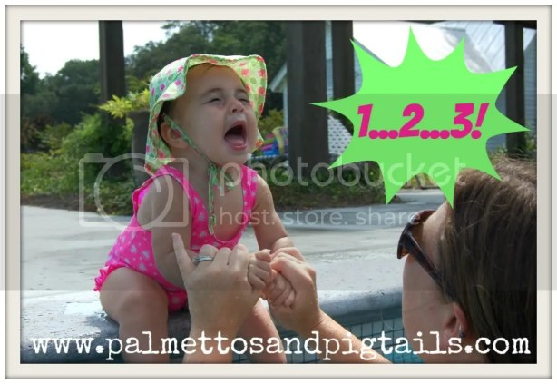 A #TBT to the girls' first swim lessons....and the pool to ourselves!
