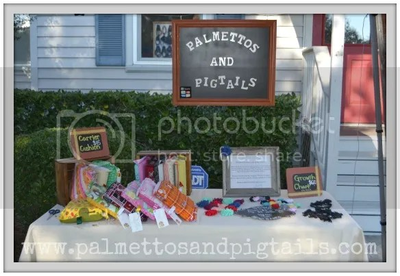 Anatomy of a Craft Fair from Palmettos and Pigtails