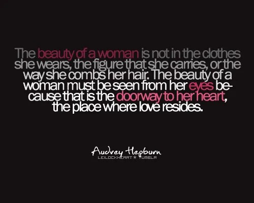 Beauty, Women Quotes