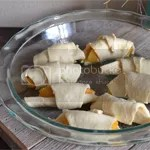 Peach Crescent Roll Dessert