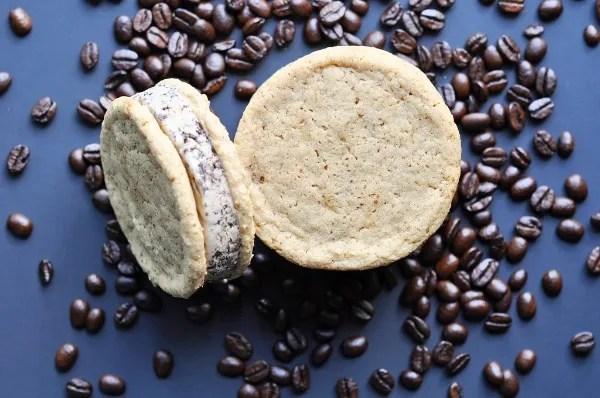 brown sugar coffee ice cream sandwiches