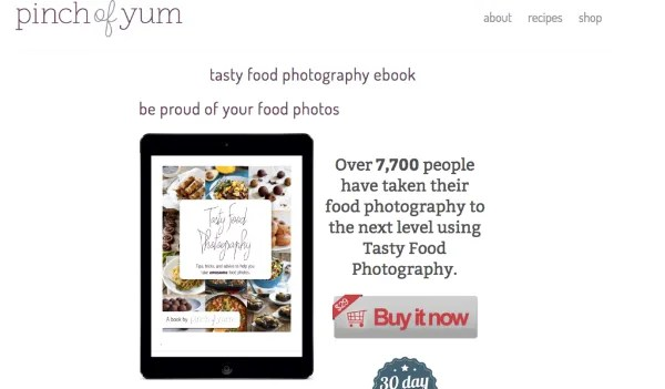 3 online resources for aspiring food photograghers