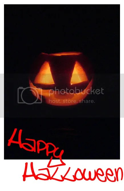 Jack-O-Lantern and a Happy Halloween