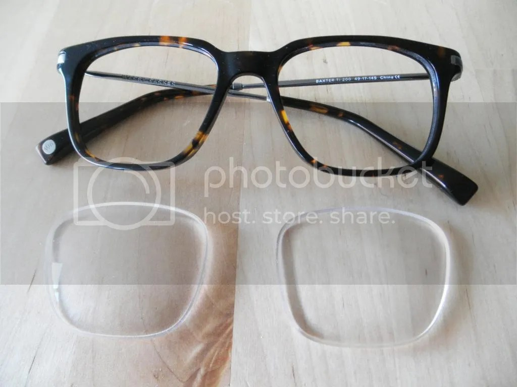 original frame without lenses