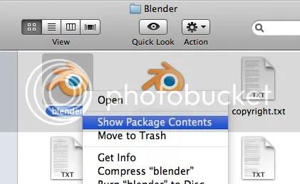 Blender package