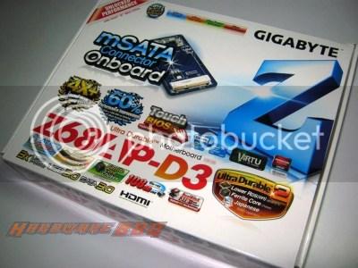 Z68AP-D3,Gigabyte,Motherboard,review,Z68,msata,i5 2500k,sandybridge