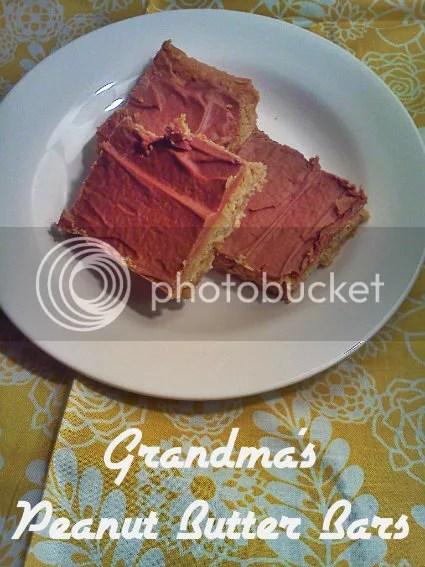 grandma's peanut butter bars