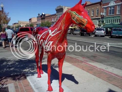 25th Street Ogden Horse