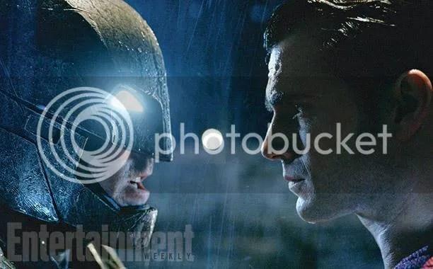 Batman and Superman face off in Batman v Superman: Dawn of Justice.