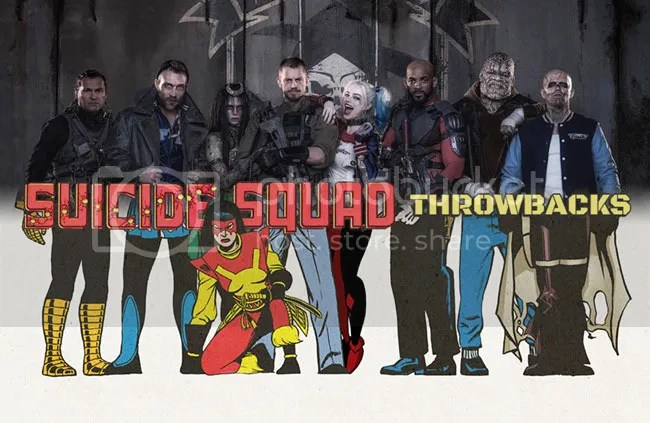 Get a look at how the members of Suicide Squad looked in their first appearances with Suicide Squad Throwbacks.