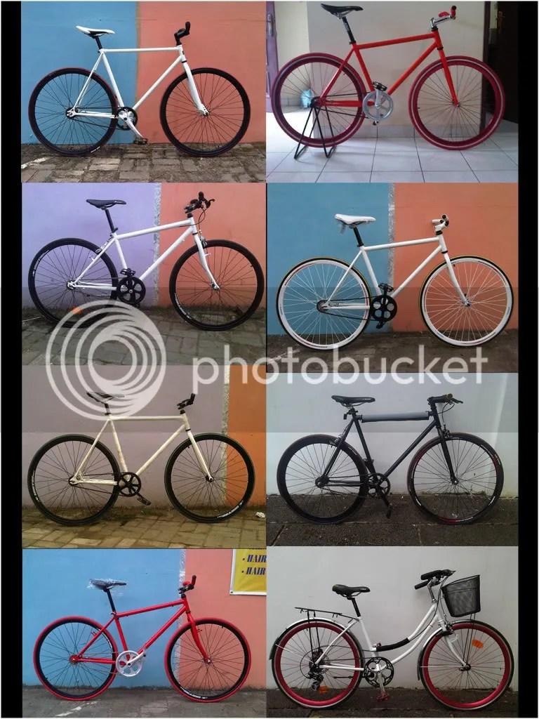 Rakit Sepeda Fixie