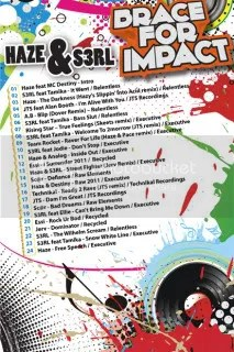Brace For Impact - Tracklist