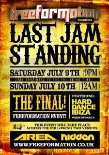 Freeformation - Last Jam Standing