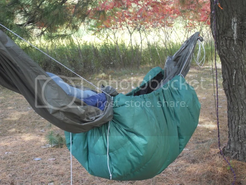 First Sewing Project Hammock Underquilt