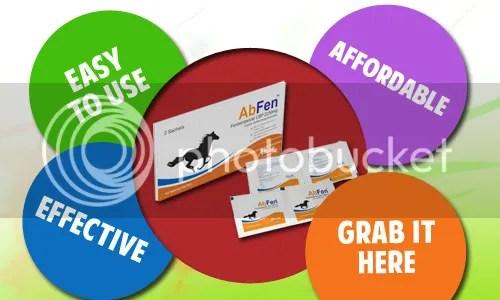 Abfen horse dewormer granules