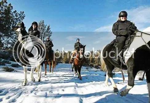 Abler Winter Horse Riding