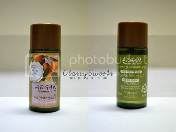 WishTrend: Confume Argan Treatment Oil