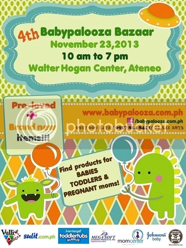 4th Babypalooza Bazaar + ZYJI Giveaway