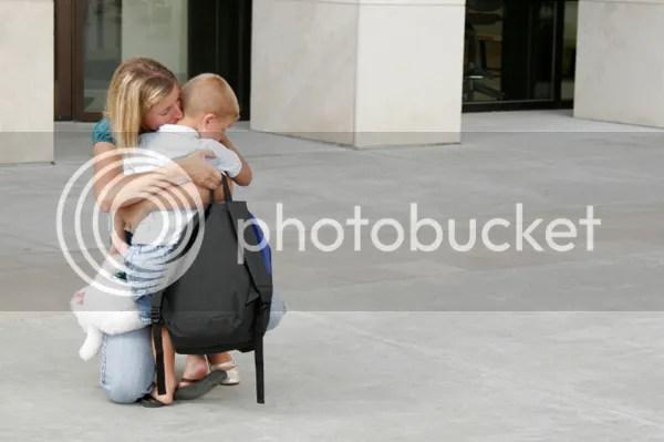 Handling Your Preschooler's First Day Blues