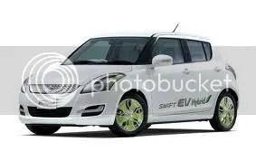 Jön az elektromos Suzuki!