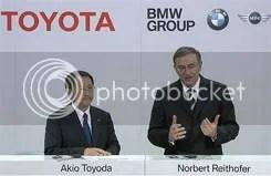 Toyota-BMW közös autó