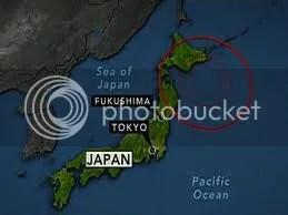 Földrengés-sorozat Japánban