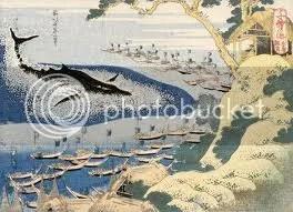 Hokuszai-képkiállitás Kiotóban