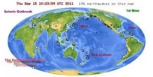 Egy órán belül erős földrengés Új-Zélandon, Japánban és Kubában