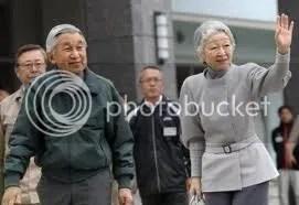 A Császári pár Fukusimában