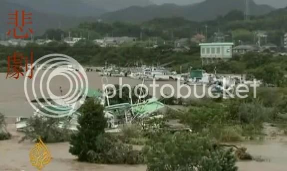Tajfun: 41 halott, 50 eltunt szemely
