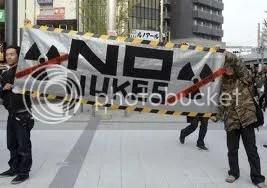 Atomellenes tüntetés