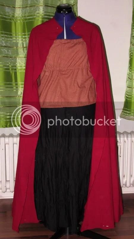 The cloak body.