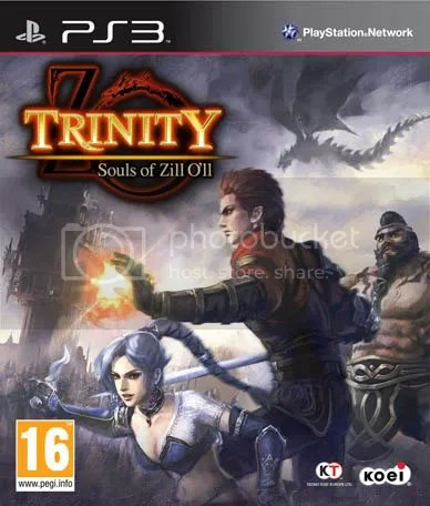 TRINITY: Souls of Zill O'll English Packshot / Box Art