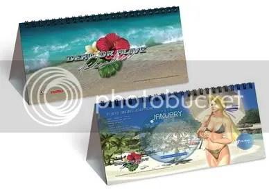 Dead or Alive Paradise 2010 Calendar