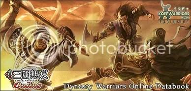 Dynasty Warrios Online - Shin Sangaku Musou Online - Databook