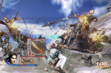 Dynasty Warriors 7 - Combat Attacks