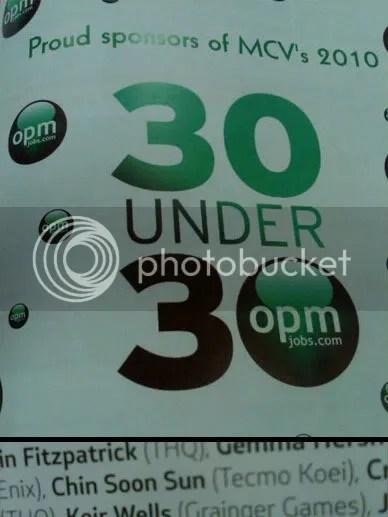 MCV Top 30 Under 30