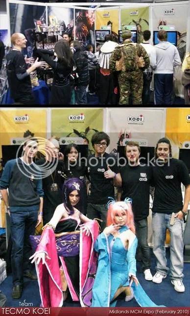 TECMO KOEI @ Midlands MCM Expo 2011