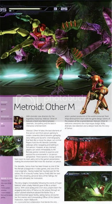 Metroid: Other M - MCV