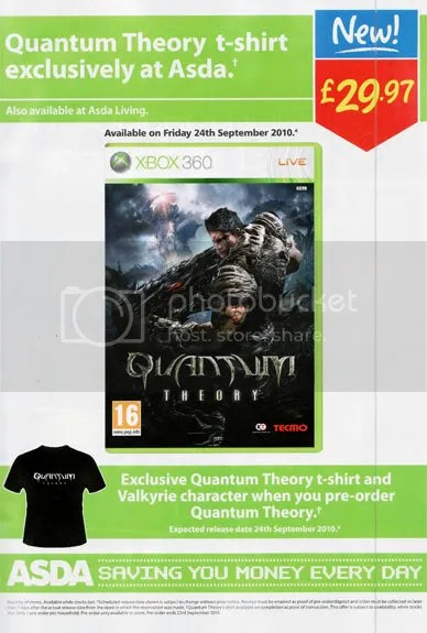 Quantum Theory T-shirt ASDA
